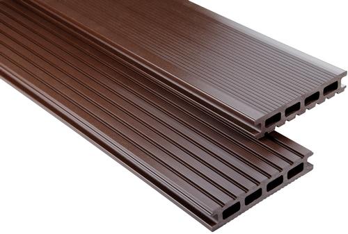 Standard Hohlkammer Schokobraun unbehandelt, 26x145 mm