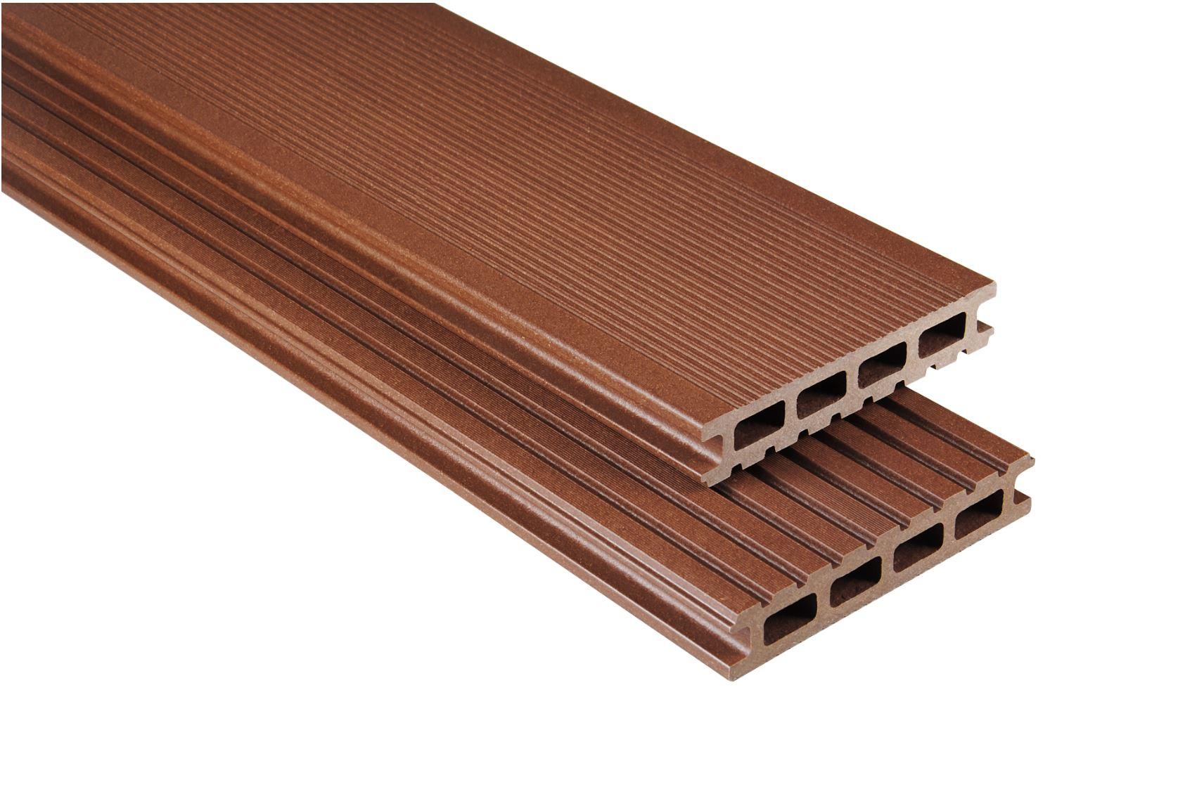 Standard Hohlkammer Braun mattiert, 26x145 mm