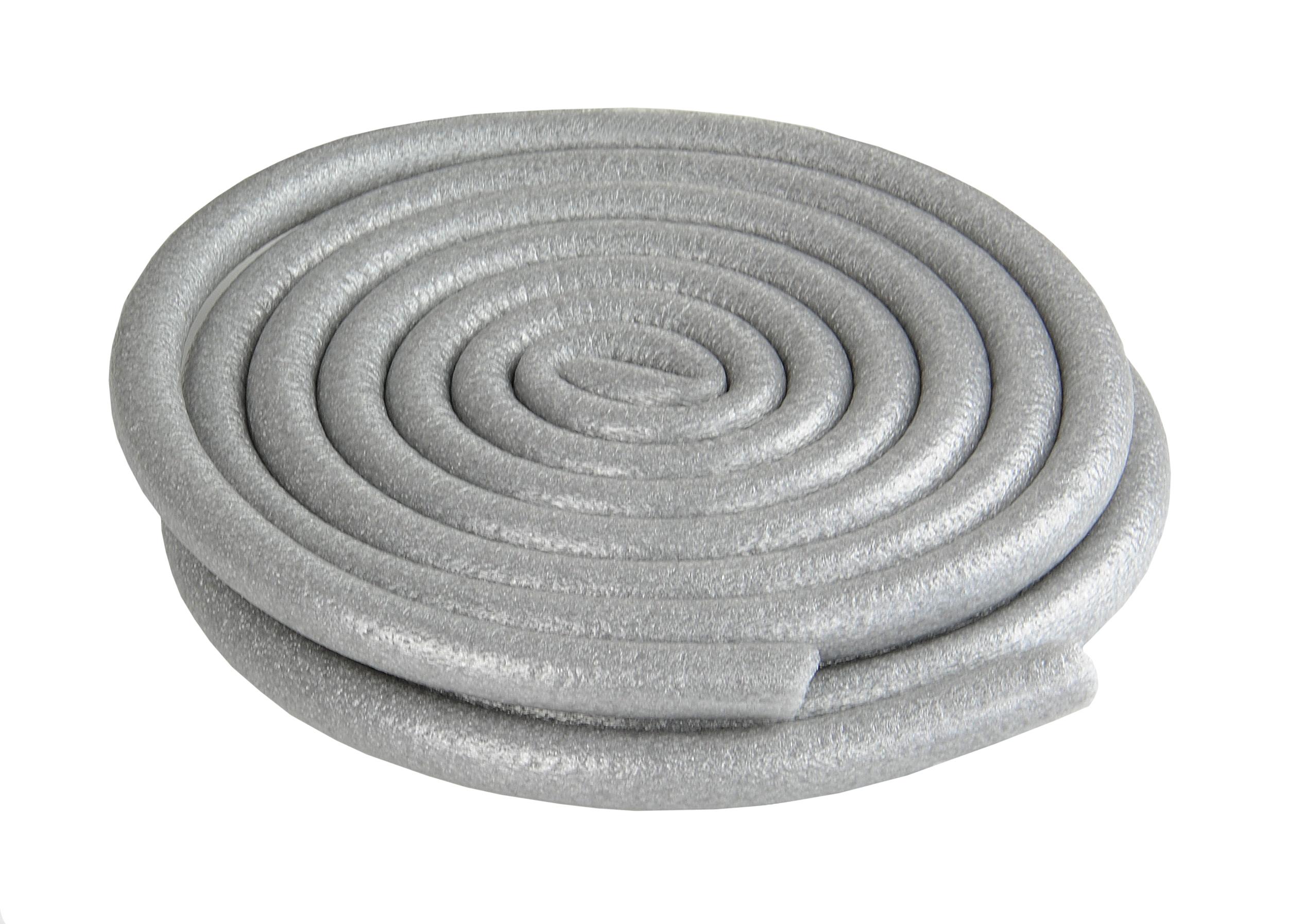 Kovalex Schaumstoffdehnunsprofil - Durchmesser: 15 mm, Länge: 2 x 2.500 mm - Zur Verwendung in den Abschlussprofilen
