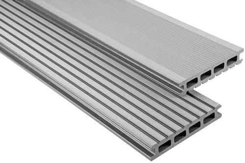 Standard Hohlkammer Grau gebürstet, 26x145 mm