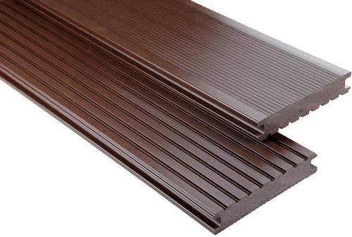Standard Vollprofil Schokobraun unbehandelt, 26x145 mm