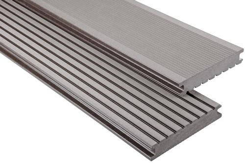 Standard Hohlkammer Graubraun mattiert, 26x145 mm
