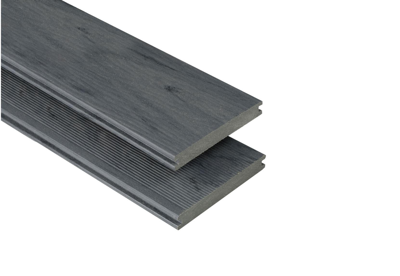 Massiv mit Struktur Räuchereiche mattiert, 20x145 mm