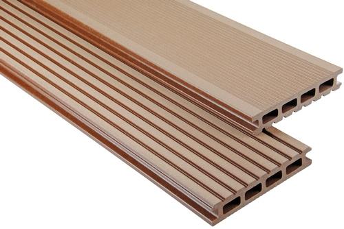 Standard Hohlkammer Braun gebürstet, 26x145 mm