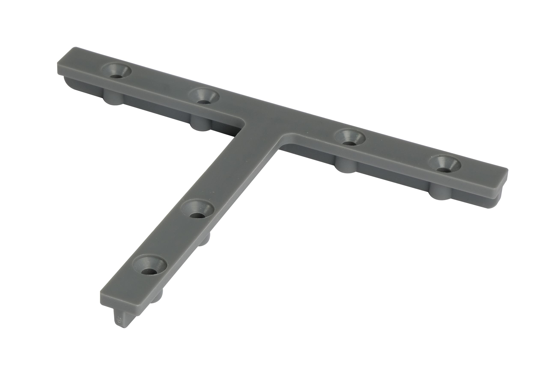 Kovalex T-Verbinder für Aluminium Unterkonstruktion - 4 Stück im Beutel