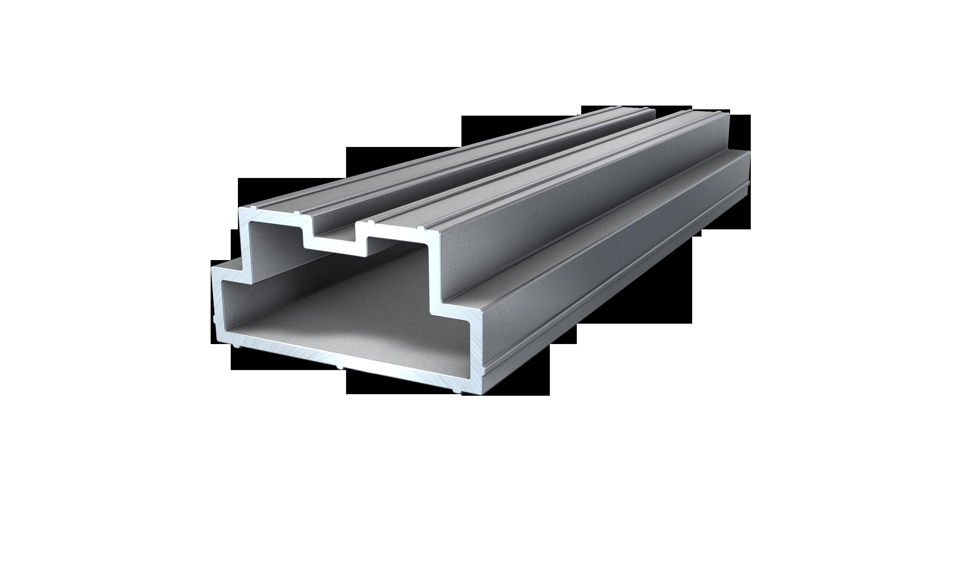Kovalex Verbinder für Aluminium Profi Unterkonstruktion - 4 Stück im Beutel inkl. Schrauben