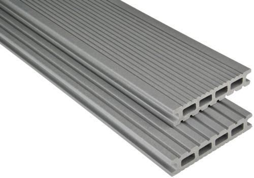 Kovalex Komplettset Exklusiv  Hohlkammer grau 3,0 M