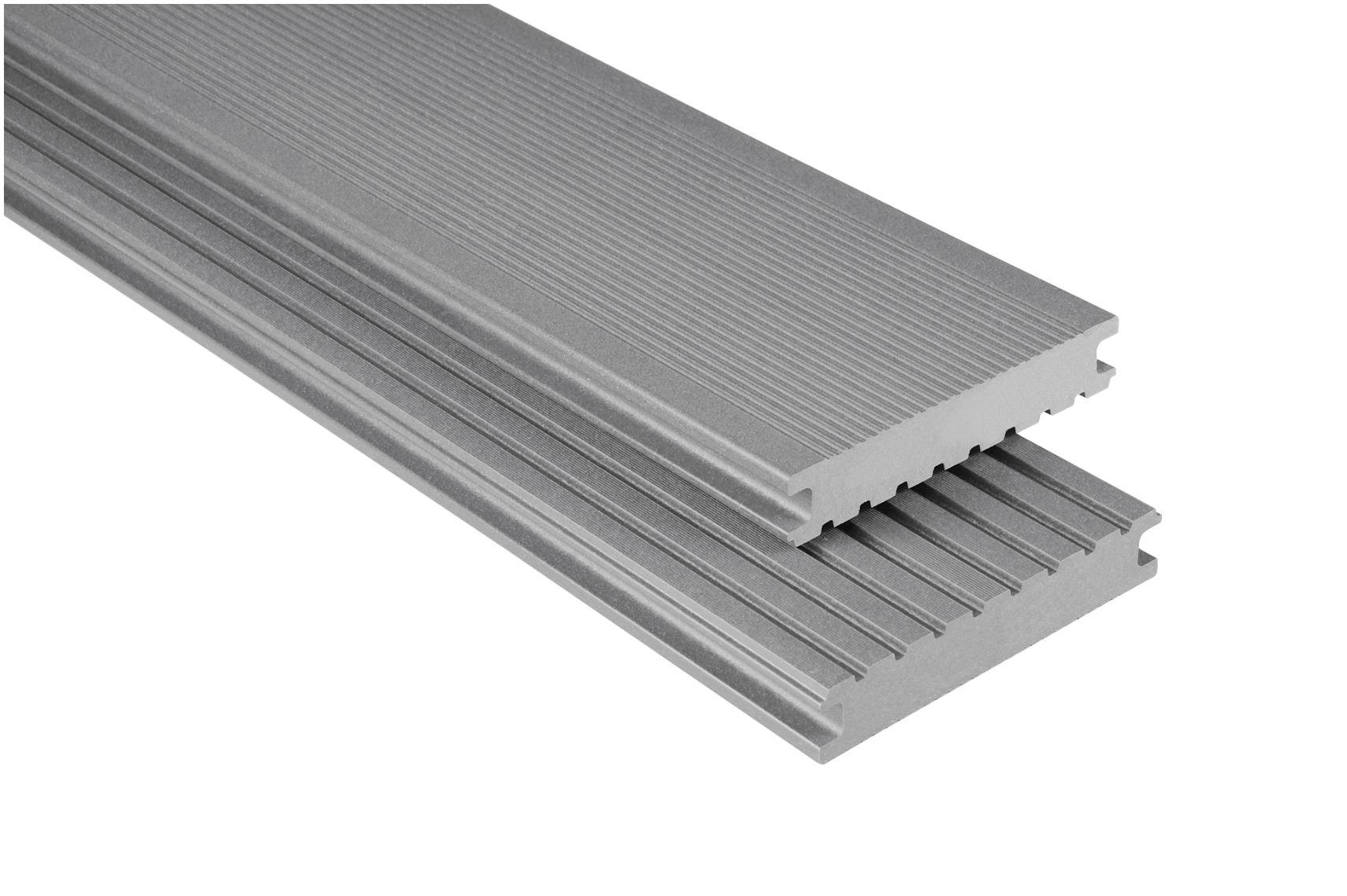 Standard Vollprofil Grau mattiert, 26x145 mm